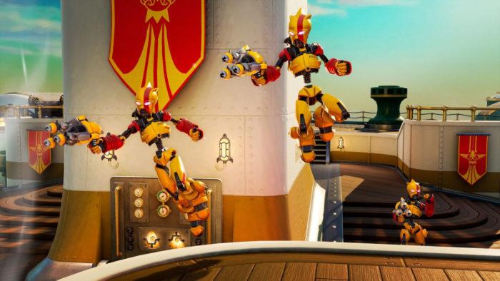 Modo Ataque dos Foguetobôs (Imagem: Divulgação/Final Strike Games/Electronic Arts)