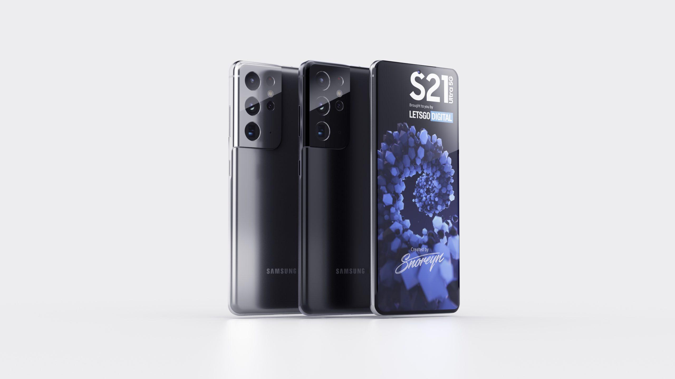 Samsung Galaxy S21, S21+ e S21 Ultra