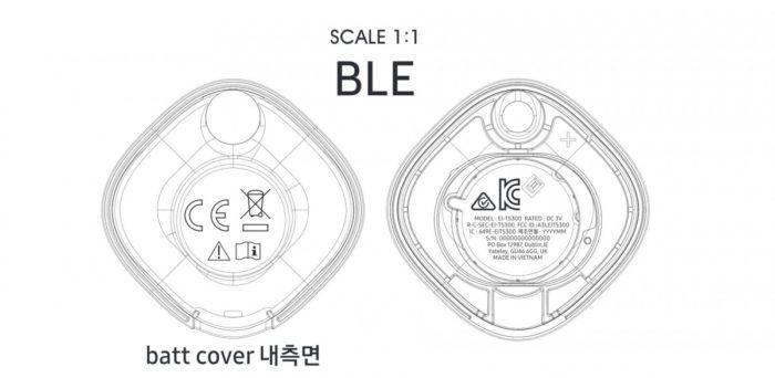 Samsung Galaxy Smart Tag, possível rastreador Bluetooth da Samsung (Imagem: Reprodução/GSMArena)