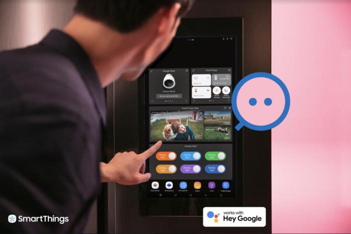 Dispositivos Google Nest terão integração com Samsung SmartThings (Imagem: Divulgação/Google)