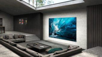 Samsung lança sua primeira TV MicroLED de 110 polegadas