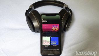 Spotify libera retrospectiva 2020 com o que você mais ouviu