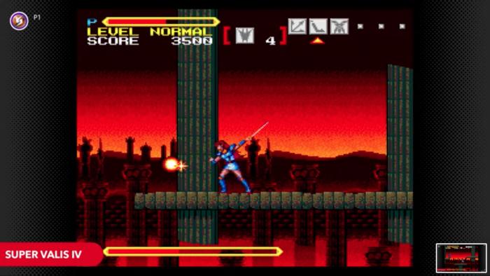 Super Valis IV (Imagem: Divulgação/Nintendo)