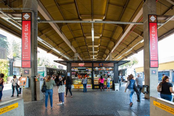 Terminal Tatuapé será um dos primeiros a receber Wi-Fi grátis (Imagem: Divulgação/Unitah)