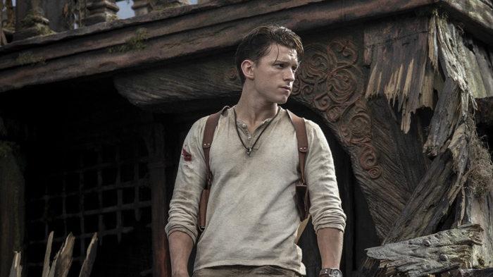 Tom Holland como Nathan Drake, de Uncharted pela Sony (Imagem: divulgação/Twitter)