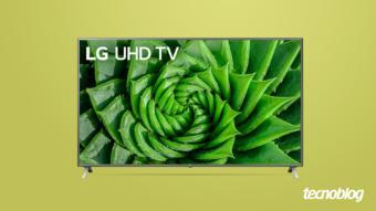 TV 4K LG UN8000: mais brilho e um pecado