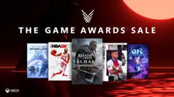 Xbox oferece descontos para jogos premiados e lançamentos