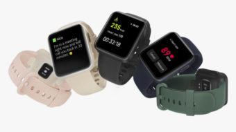 Xiaomi revela relógio Mi Watch Lite com bateria para nove dias