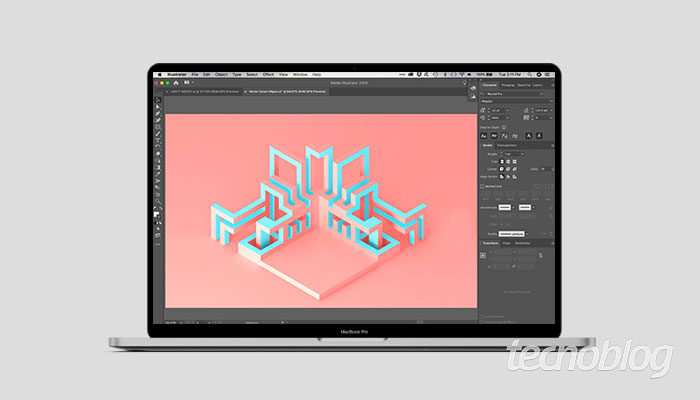 Como criar mapa 3D [isométrico] no Illustrator