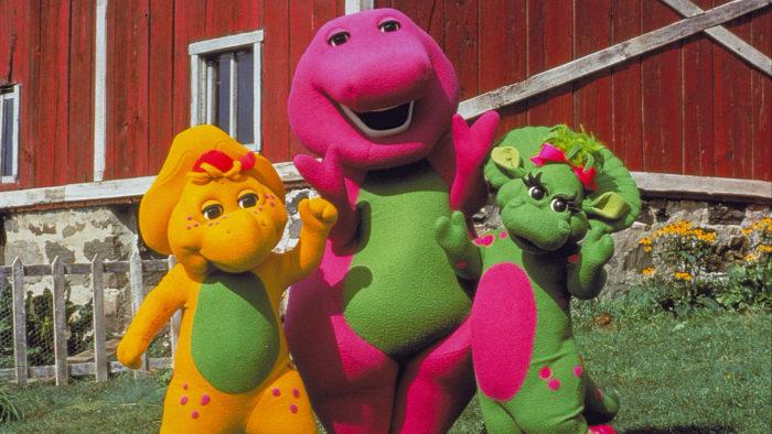 A grande aventura de Barney - O Filme (Imagem: Divulgação/Netflix)