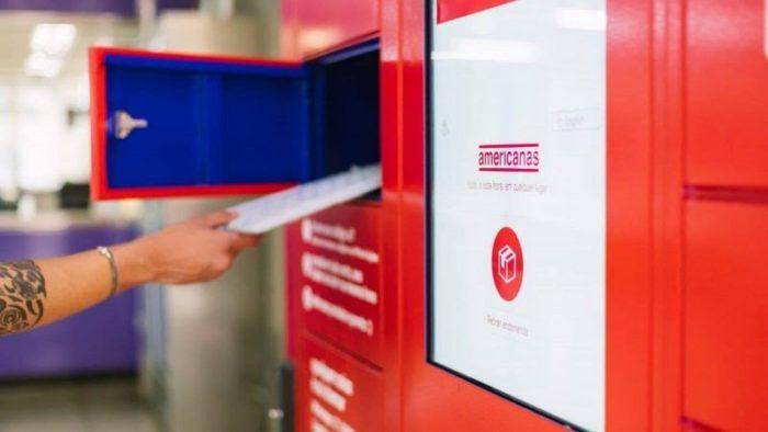 Locker das Americanas (Imagem: Divulgação/B2W)