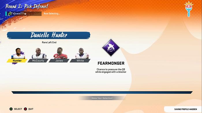 Draft de jogadores no Superstar KO (Imagem: Leandro Kovacs/Reprodução)