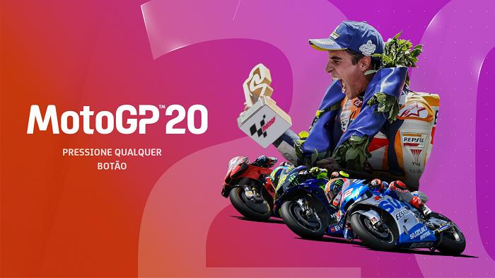 MotoGP 20 é o atual game da franquia (Imagem: Leandro Kovacs/Reprodução)