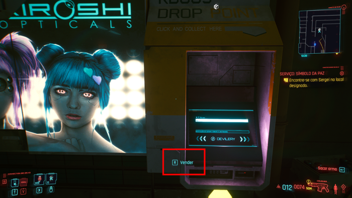 Cyberpunk 2077 - vender itens (2)