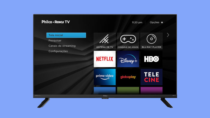 Philco Roku TV (Imagem: Divulgação/Roku)