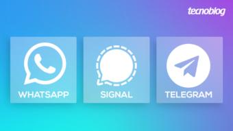 WhatsApp, Signal ou Telegram; preciso mudar de mensageiro?