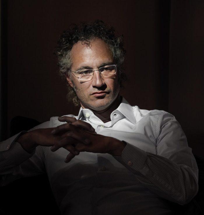 Alex Karp, CEO da Palantir Imagem: Antoine d'Agata / Magnum Photos / The New York Times