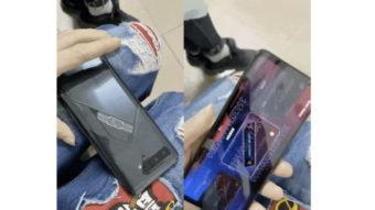 Asus ROG Phone 5 com tela secundária surge em vídeo