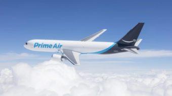 Amazon compra aviões pela primeira vez para reforçar frota