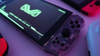 Aya Neo é um PC portátil que roda Cyberpunk 2077