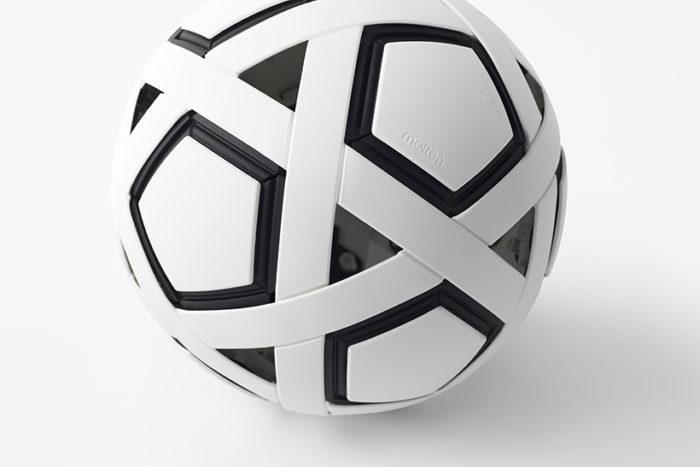 Bola de futebol My Football Kit (Imagem: Akihiro Yoshida/Nendo)