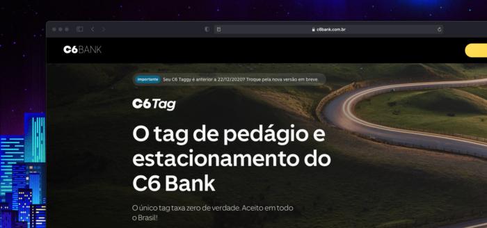 C6 Tag (Imagem: reprodução)