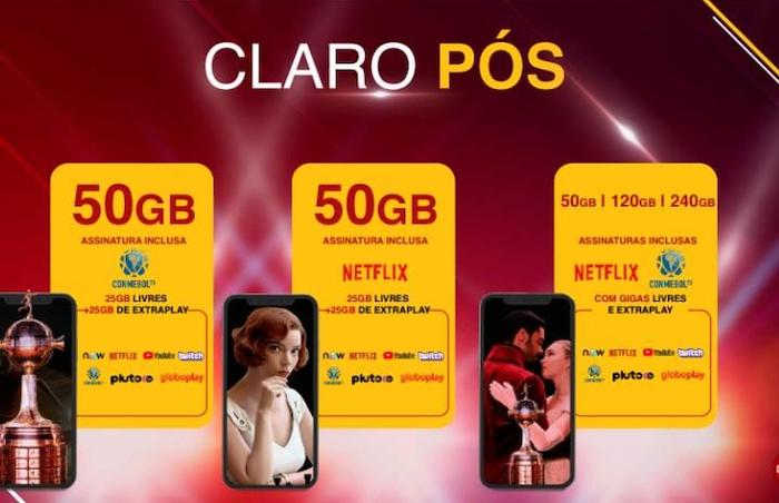 New Claro Claro plans (Image: Disclosure / Claro)