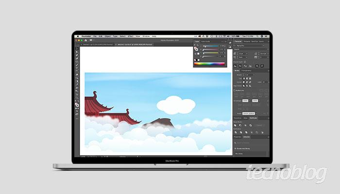 Como combinar formas no illustrator