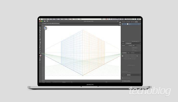 Criando grid isométrico no Illustrator