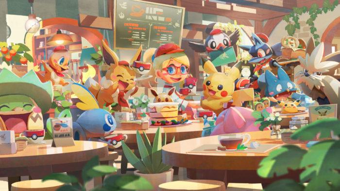 Pokémon Café Mix (Imagem: Divulgação/Genius Sonority/The Pokémon Company/Nintendo)