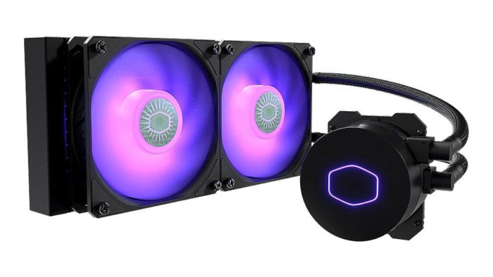 Water cooler Cooler Master MasterLiquid ML240L: suporta TDP de até 200 W (Imagem: Divulgação/Cooler Master)