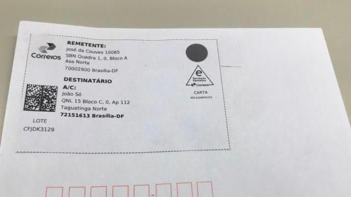 Correios adotam QR Code em cartas (Imagem: Divulgação/Correios)