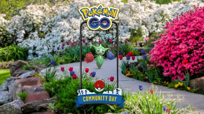 Roselia será estrela do Dia Comunitário de fevereiro em Pokémon Go (Imagem: Divulgação/Niantic)
