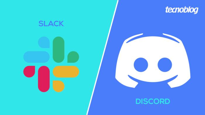 Slack vs. Discord (Imagem: Tecnoblog)