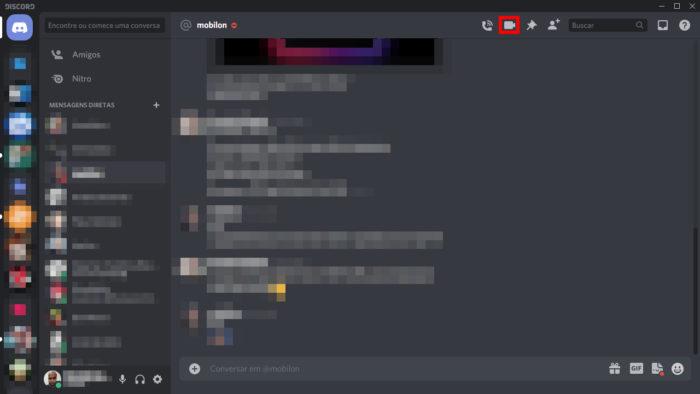 Tela de chat do Discord (Imagem: Reprodução/Discord)