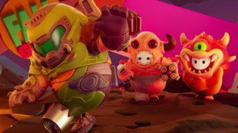 Fall Guys terá skins de personagens de Doom