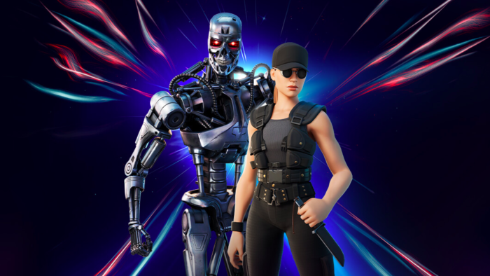 The Terminator Heroes included in Fortnite (Image: Epic Revelation / Game)