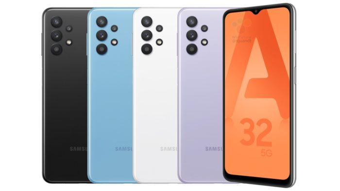 Possível Samsung Galaxy A32 5G (Imagem: Reprodução/WinFuture)