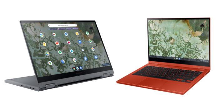 Samsung Galaxy Chromebook 2 com tela QLED (Imagem: divulgação/Samsung)