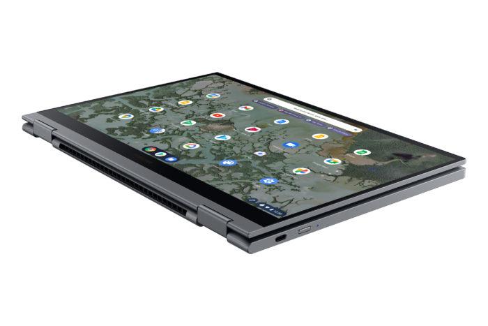 Galaxy Chromebook 2 é 2-em-1 (Imagem: divulgação/Samsung)