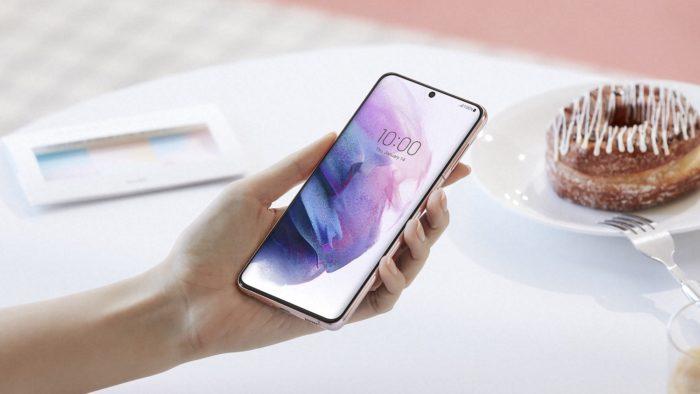 Samsung Galaxy S21+ (Imagem: Divulgação/Samsung)