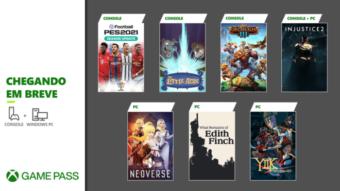 Game Pass de janeiro recebe Injustice 2, PES 21 e mais no catálogo