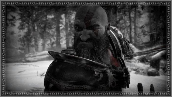 É o Kratos ou o Popeye? (Imagem: Reprodução/Santa Monica Studio/Sony Interactive Entertainment)