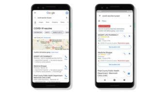 Google ajuda a encontrar locais de vacinação contra COVID-19