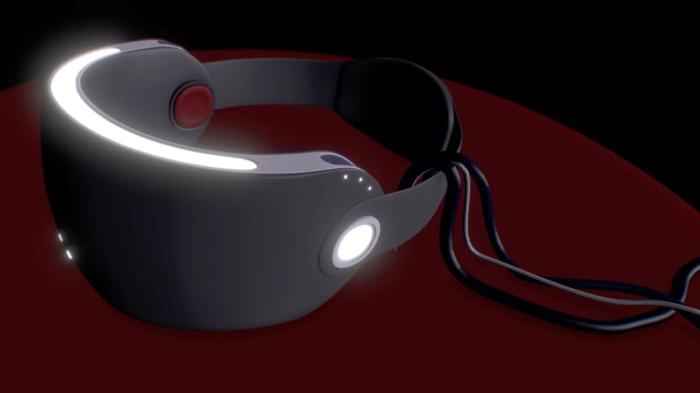Conceito de Headset VR da Apple