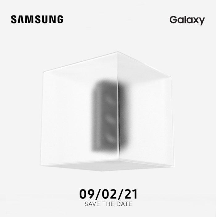 Convite da Samsung (Imagem: Divulgação)