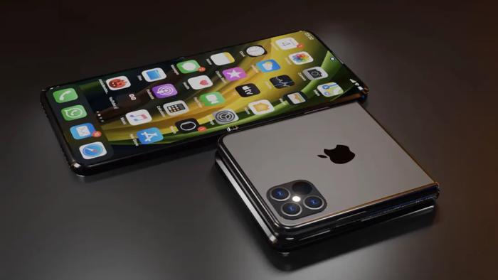 Conceito de iPhone dobrável (Imagem: Reprodução/ConceptsiPhone)
