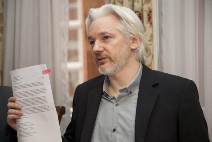 Julian Assange em 2014 (Imagem: David G Silvers/Chancelaria do Equador)