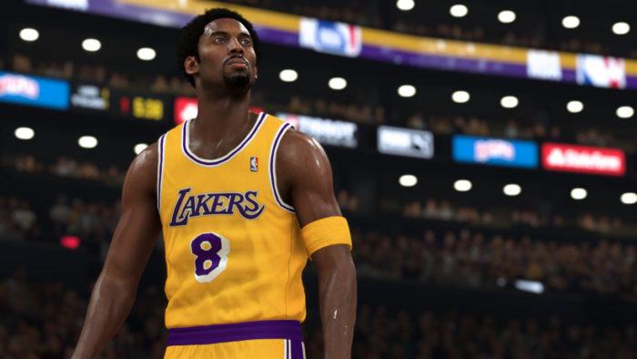 Kobe Bryant em NBA 2K21 (Imagem: Divulgação/Visual Concepts/2K Sports)
