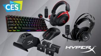 HyperX anuncia teclado gamer compacto, novos fones de ouvido e mais